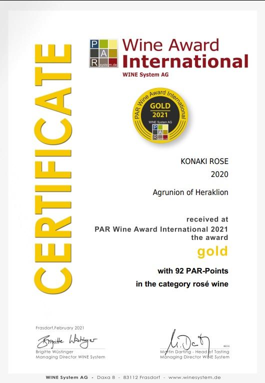 Certificate_KONAKI ROSE