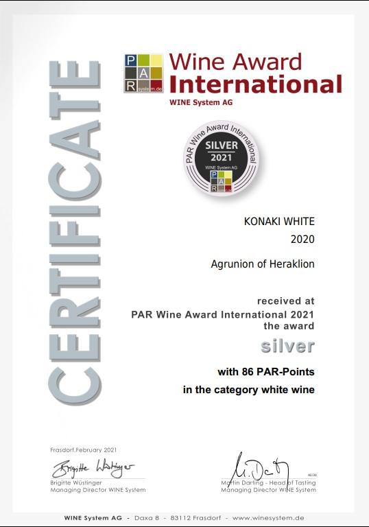 Certificate_KONAKI WHITE